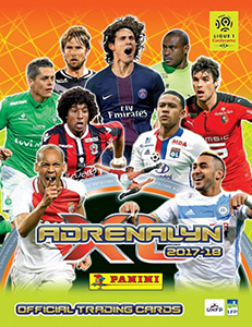 Panini FOOT 2017-2018. Adrenalyn XL