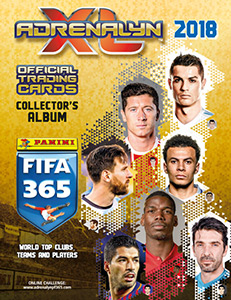 Panini FIFA 365: 2017-2018. Adrenalyn XL
