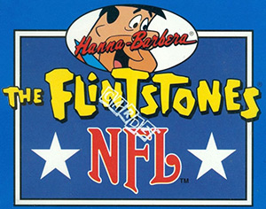 Cardz The Flintstones NFL