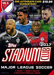 Topps Stadium Club MLS 2017
