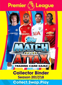 Topps English Premier League 2017-2018. Match Attax