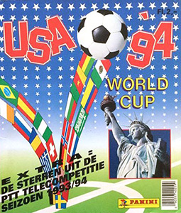 Panini FIFA World Cup USA 1994. Dutch version
