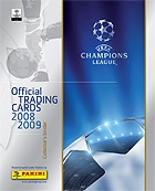 Panini UEFA Champions League 2008-2009. Trading Cards