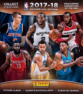 Panini NBA Basketball 2017-2018. US edition