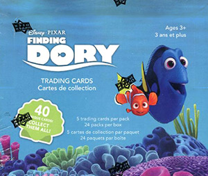 Upper Deck Finding Dory