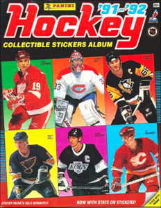 Panini NHL Hockey 1991-1992