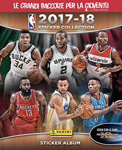 Panini NBA Basketball 2017-2018. European edition