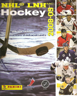 Panini NHL Hockey 2008-2009
