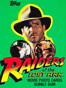 Topps Raiders of the Lost Ark