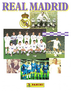 Panini Real Madrid 1995-1996