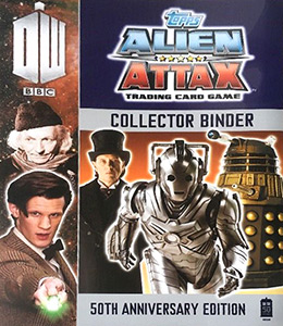 Topps Doctor Who Alien Attax 50th Anniversary Edition