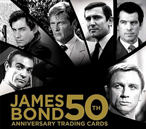 James Bond 50th Anniversary Series 1 007 Gold Gallery Chase Card GG7