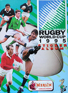 Merlin Rugby World Cup 1995