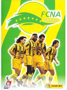 Panini Football Club Nantes Atlantique 1996