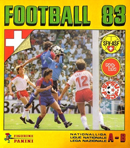 Panini Football Switzerland 1982-1983