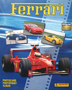 Panini Ferrari photocards