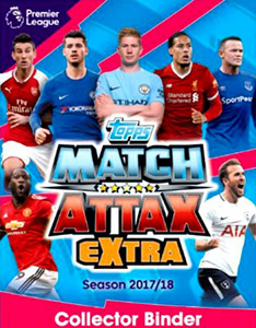 Topps English Premier League 2017-2018. Match Attax Extra