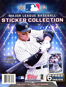 Topps MLB Sticker Collection 2018