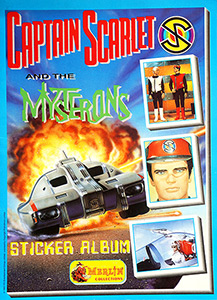 Merlin Captain Scarlet and the Mysterons