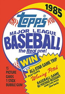 Topps Major League Baseball 1985