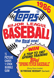 Topps Major League Baseball 1986