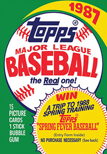 Topps Major League Baseball 1987