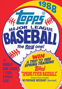 Topps Major League Baseball 1988