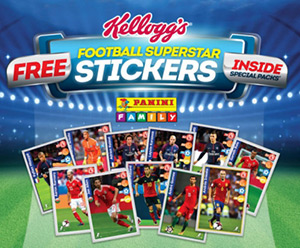 Panini Kellogg's Football Superstars 2018