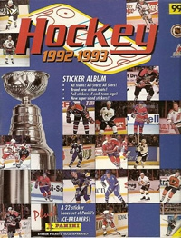 Panini NHL Hockey 1992-1993