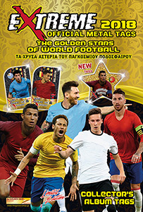 Golden Shop The Golden Stars of World Football 2018 Metal Tags