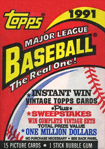 Topps Major League Baseball 1991