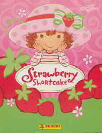 Panini Strawberry Shortcake