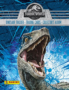 Panini Jurassic World 2: Fallen Kingdom. Trading Cards