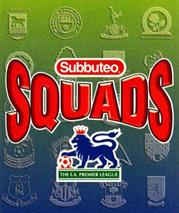 Subbuteo Squads Premier League 1996-1997. Pro Edition