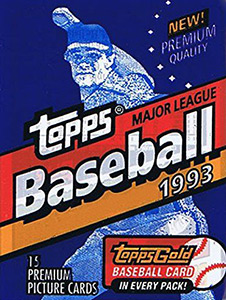 Topps Major League Baseball 1993