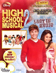 Panini High School Musical 2. Lost in Music