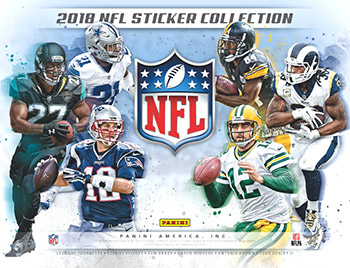 Panini NFL Sticker Collection 2018