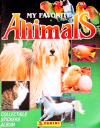 Panini My favorite animals