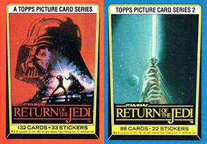 Topps Star Wars: Return Of The Jedi 1983