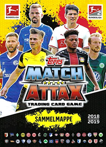 Topps German Fussball Bundesliga 2018-2019. Match Attax