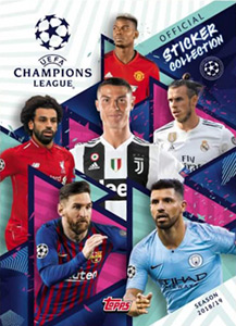 Alef Sticker 588 Topps Champions League 18//19