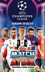 Topps UEFA Champions League 2018-2019. Match Attax