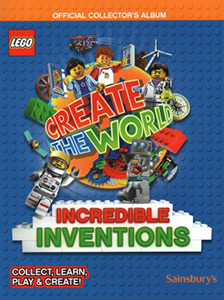 LEGO Create The World: Incredible Inventions