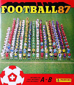 Panini Football Switzerland 1986-1987