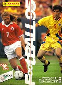 Panini Football Switzerland 1994-1995