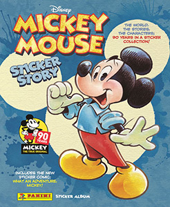 Panini Disney Mickey Mouse sticker story