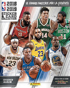 Panini NBA Basketball 2018-2019. European edition