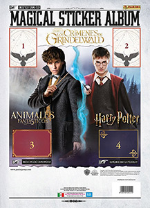 Panini Fantastic Beasts: The Crimes of Grindelwald