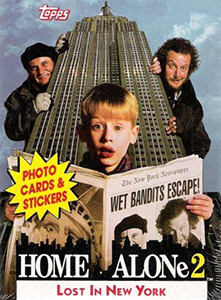 Topps Home Alone 2: Lost in New York