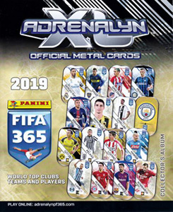 Panini FIFA 365: 2018-2019. Adrenalyn XL. Metal сards